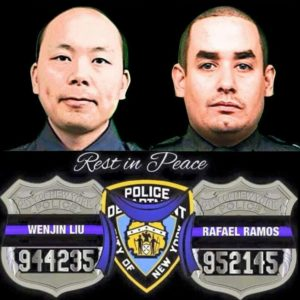 Luncheon for NYPD Det. Ramos and Det. Liu, EOW 12/20/2014