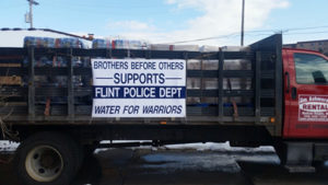 flint pd – water for warriors