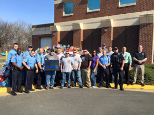 BBO visits Prince William County, VA in honor of Officer Guindon