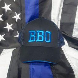 BBO blue line mesh cap