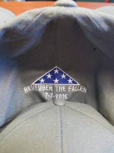 Dallas Memorial FlexFit Hat back