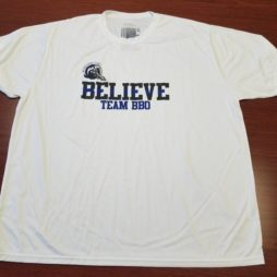 believe moisture wicking t-shirt