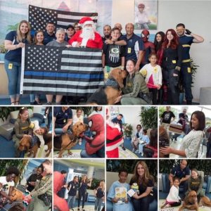 """Christmas in July"" – BBO members in Florida visit Joe Dimaggio's Children's Hospital"