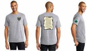 detective steven mcdonald memorial shirt grey
