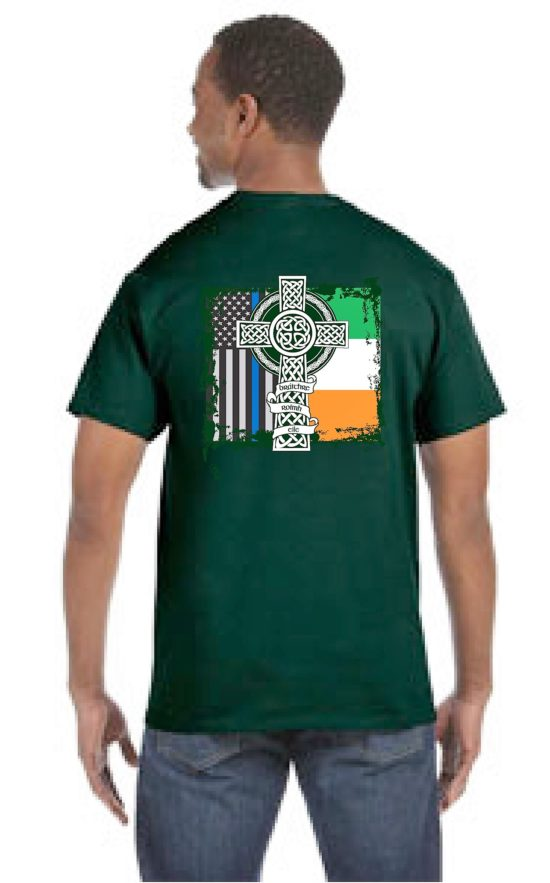 St Patrick's Day Shirt back