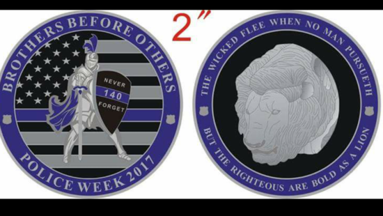police week coin