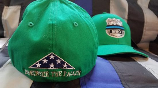 Remember The Fallen Green Hat back