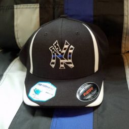 cool and dry NY flex fit hat