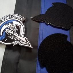 embroidered velcro patch