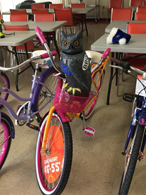 Union County PD – BBO bike giveaway